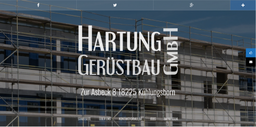 Hartung Gerüstbau GmbH Kühlungsborn, Gerüstbau Rostock, Gerüstbau Wismar, Gerüstbau Bad Doberan, Gerüstbau MV